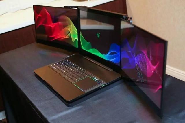 三屏电脑,厉害了!雷蛇出了个三屏折叠的笔记本电脑