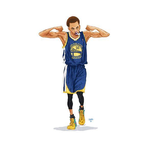 篮球男生头像动漫头像欧美,分享一下自己珍藏的NBA球员动漫美图,可做头像或壁纸