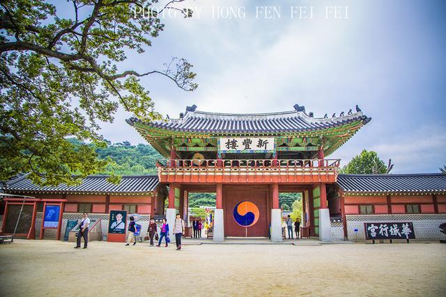 朝鲜22代王,去韩国水原,逛华城走行宫,南门市场里吃炸鸡喝啤酒