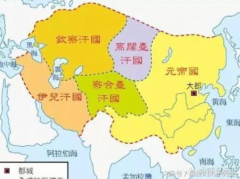 四大汗国,蒙古四大汗国1:金帐汗国世系!
