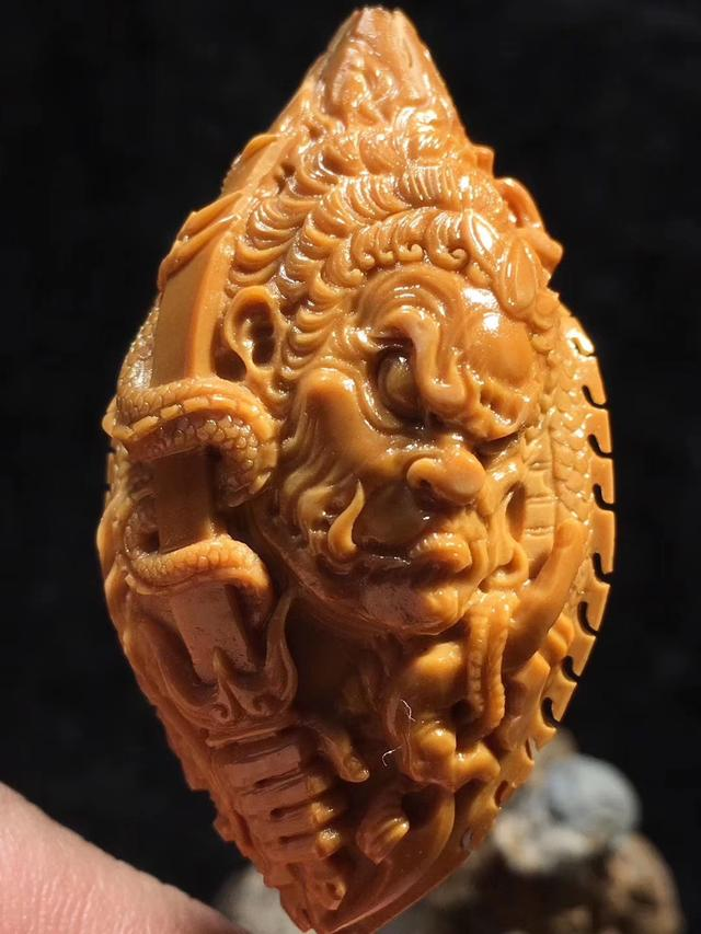 股市里的不动明王,一面是不动明王一面象神,精心设计的一款 核《不动明王+象神》