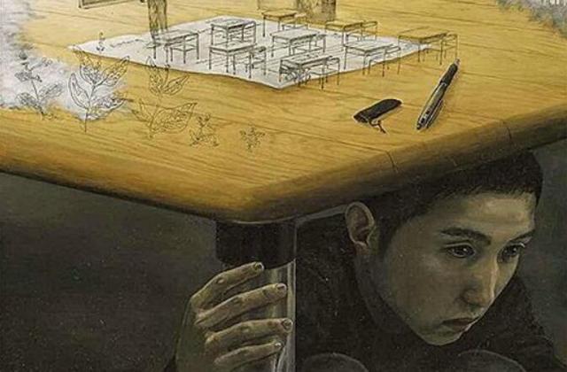 恐怖漫画画家篇,这位日本漫画家的画,现实中透着恐怖,一般人看了都觉得变态!
