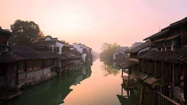 江南六大古镇排名,打卡江南水乡?看着六大古镇就够了