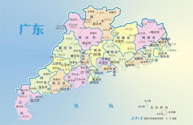 钦人铁股,清朝时期,广东七大直隶州,现四个为地级市