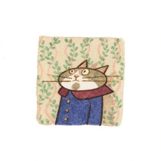 画师Eunyoung Seo 笔下的喵星人小头像,好可爱 乖乖的小猫咪-第2张图片-深圳宠物猫咪领养送养中心