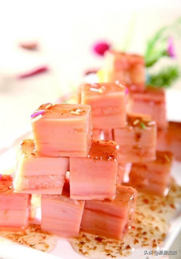 桂花莲藕,闽笋炖煮白萝卜,春色满园,鸡丁小炒的做法