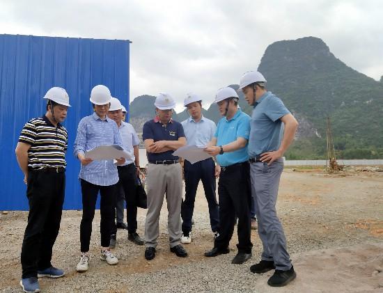 李德智到北投地产集团北投紫云·凤景湾项目调研指导工作