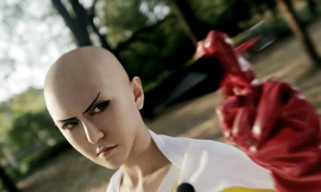 战栗的龙卷同人H漫,一拳超人:那些神级的cosplay,龙卷太惊艳,琦玉神还原!