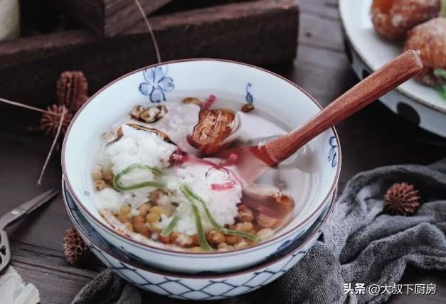 绿豆刷机神器电脑版,大叔家的大暑食谱:苏州绿豆汤,冰凉解渴,甜美软糯,家人爱喝