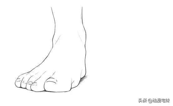 踮起脚动漫,足控有救了!动漫人物脚部画法详解