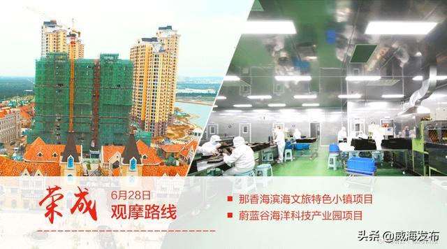 跟着观摩团看项目:那香海滨海文旅特色小镇项目、蔚蓝谷海洋科技产业园项目