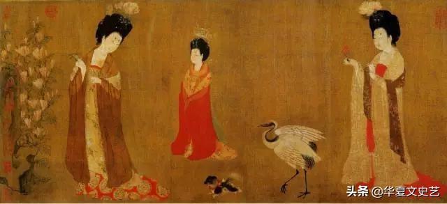 长宁公主的图片,唐代公主在古代文物中的众生像