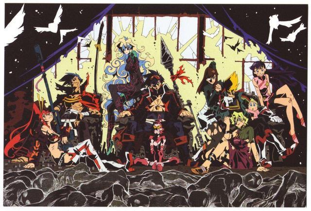 动漫名 斩服少女,《天元突破》、《斩服少女》有一种热血叫:今石洋之X中岛一基