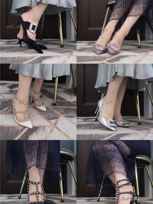 华伦天奴还是RV?经典款的高跟鞋在设计上有哪些可比性