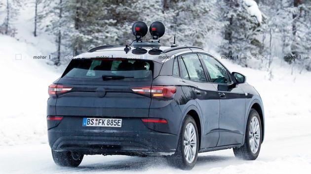 純電SUV大眾ID.4量產版諜照曝光 年內正式發布