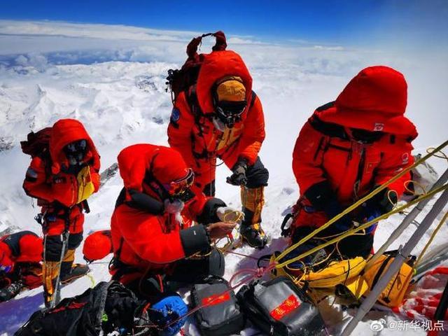 150分钟!中国人在珠峰峰顶停留时长新纪录